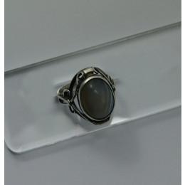 Pierścionek ORNO Srebrny z Agatem