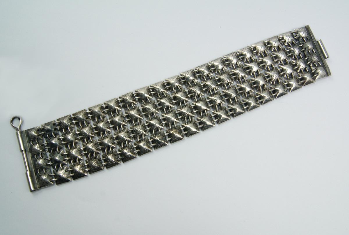 58e625165e64 Bransoleta srebrna ORNO kolczuga - Stare srebra