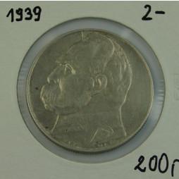Moneta 10 Złotych 1939r  srebro