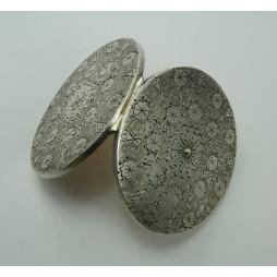 Puderniczka  ORNO srebro
